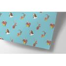 cc742 | crissXcross | Animal Christmas - wrapping paper