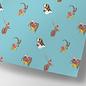cc742 | crissXcross | Tierische Weihnachten - Geschenkpapier Bogen 50 x 70 cm