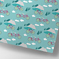 cc743 | crissXcross | Bicycle trip - wrapping paper  -  wrapping paper sheet 50 x 70 cm