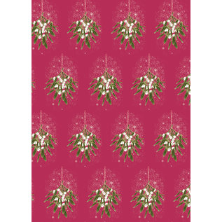 mi701 | m-illu | Mistletoe - wrapping paper sheet 50 x 70 cm