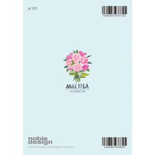 Anke Rega ar301 | Anke Rega | Wedding couple - double card C6