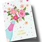 Anke Rega ar304 | Anke Rega | Champagner Happy Birthday - double card C6