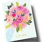 Anke Rega ar305 | Anke Rega | Blumen Alles Liebe - Klappkarte C6