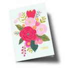 ar306 | Anke Rega | Blumen Danke - Klappkarte