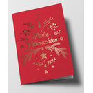 pu106 | Pure | fir branches, red - double card