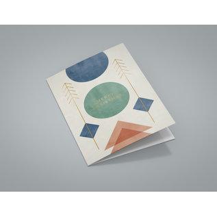 dfx400 | Designfräulein | Emerald Circle - Klappkarte C6
