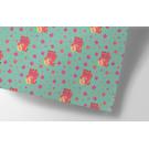 ha711 | happiness | Winkekatze - Geschenkpapier Bogen 50 x 70 cm