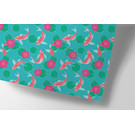 ha712 | happiness | koi fishes - wrapping paper Bogen 50 x 70 cm