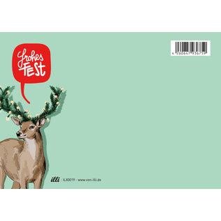 ILX0019 | illi | Jort - Postkarte  A6