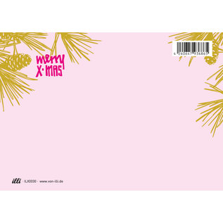 ILX0030   illi   Tatami - Postkarte A6