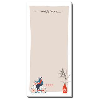 fzbl020 | Fritzante | Mitbringen - notepad DIN long