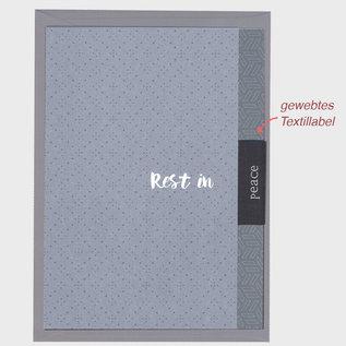 fzlb010 |  Lability | Rest in peace - Klappkarte A6