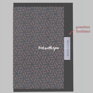 fzlb011 |  Lability | Feel with you - Klappkarte A6