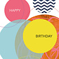 fzsw021 | Style For A While | Happy Birthday - wood pulp cardboard  A6