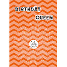 fzsw023 | Style For A While | Birthday Queen - Holzschliffpappe