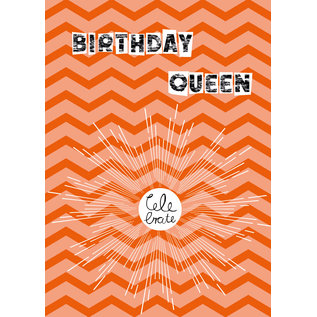 fzsw023 | Style For A While | Birthday Queen - Holzschliffpappe A6