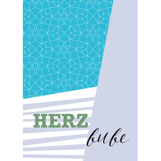 fzsw029 | Style For A While | Herzbube - wood pulp cardboard  A6