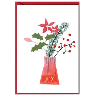 fzxm009 |  Xmas Karten | Joy - double card  A6