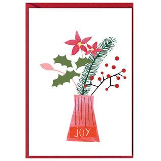 fzxm009 |  Xmas Karten | Joy - Klappkarte A6