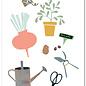 fzyp075   You've Got Post   Gartenutensilien - Postkarte  A6