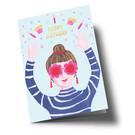 ar300 | Anke Rega | Birthday Girl - Klappkarte