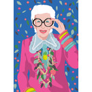 ng203 | pop art new generation | Iris Apfel - postcard