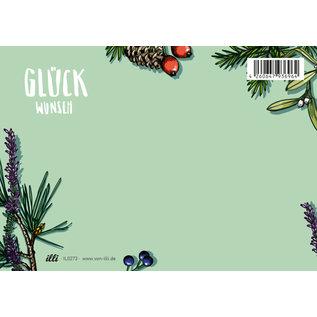 il0273   illi   Arbaro Glückwunsch - Postkarte A6