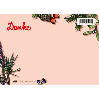 il0274 | illi | Arbaro Danke - Postkarte A6