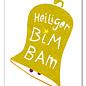 FZYPX04    Xmas Karten   Heiliger BimBam - postcard  A6
