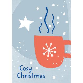 dfx309 | Designfräulein | Cosy Christmas - Postkarte A6