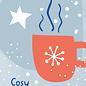 dfx309 | Designfräulein | Cosy Christmas - postcard A6