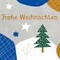 dfx305 | Designfräulein | Frohe Weihnachten - Postkarte  A6