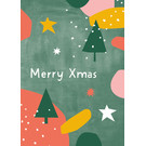 dfx303 | Designfräulein | Merry Xmas - postcard