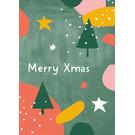 dfx303 | Designfräulein | Merry Xmas - Postkarte