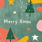 dfx303 | Designfräulein | Merry Xmas - postcard A6