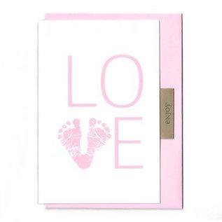FZLB025 |  Lability | Love Girl - folding card A6