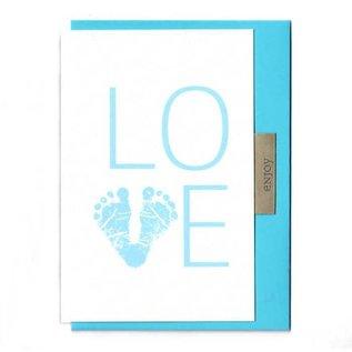 FZLB026 |  Lability | Love Boy - folding card A6