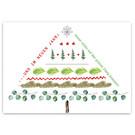 FZYPX16 |  Xmas Karten | Und im neuen Jahr: auf den grünen Zweig kommen - Postkarte  A6