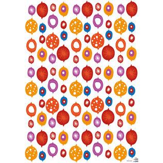 fzgp012 | Gift Paper | Christmas Balls