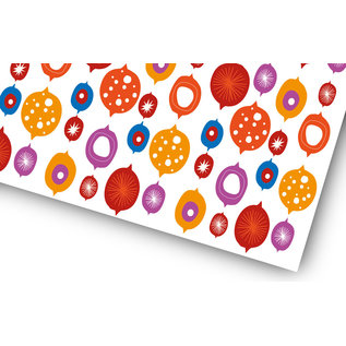 fzgp012 | Geschenkpapier | Weihnachtskugeln