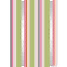 fzgp024 | Geschenkpapier | Stripes rosa grün