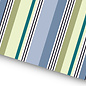 fzgp025 | Geschenkpapier | Stripes blue green