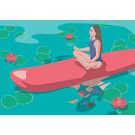 ha032 | happiness | SUP Lotussitz
