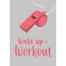 lu136 | luminous | wake up & work out