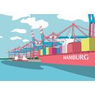 bv069 | bon voyage | Containerhafen, Hamburg