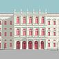 bv080 | bon voyage | Museum Barberini, Potsdam - postcard A6
