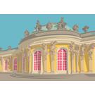 bv081 | bon voyage | Castle Sanssouci, Potsdam