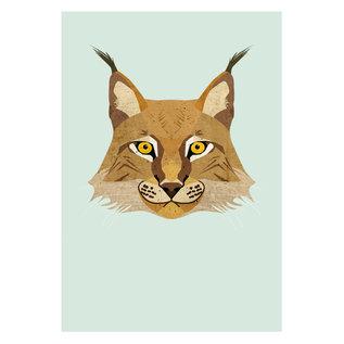 di003 | Daria Ivanovna | Lynx - postcard A6