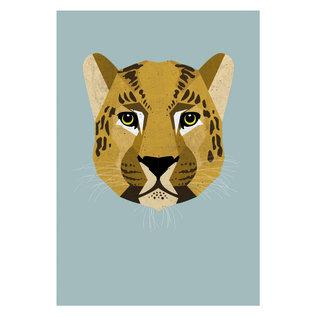 di004 | Daria Ivanovna | Leopard - postcard A6