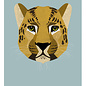 di004 | Daria Ivanovna | Leopard - Postkarte A6
